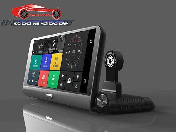 Camera hành trình 4G màn 8 inch mã 781 - Đặt taplo 05