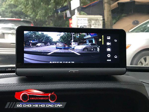 Camera hành trình 4G màn 8 inch mã 781 - Đặt taplo 14