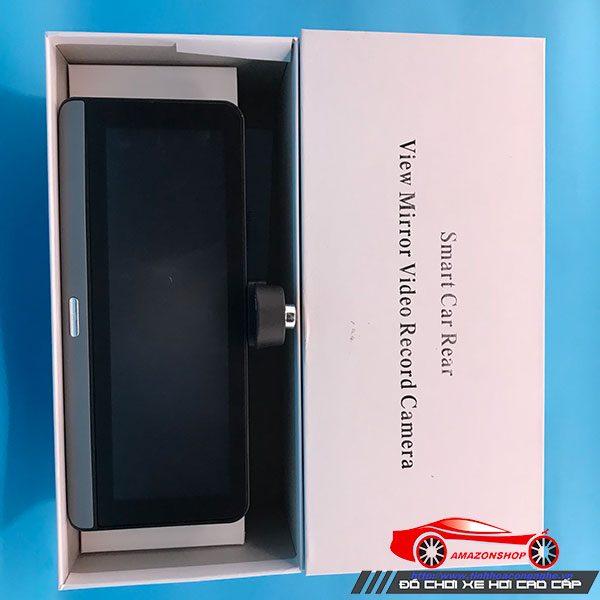 Camera hành trình 4G màn 8 inch mã 781 - Đặt taplo 20