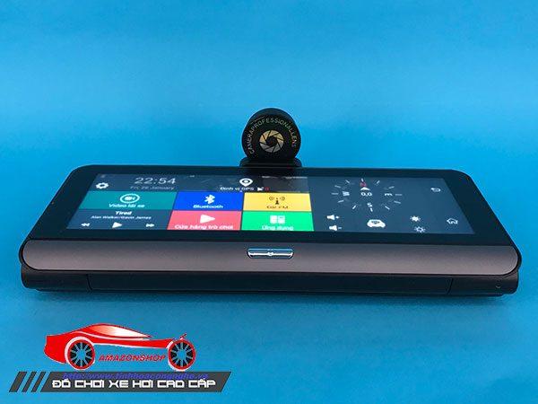 Camera hành trình 4G màn 8 inch mã 781 - Đặt taplo 30