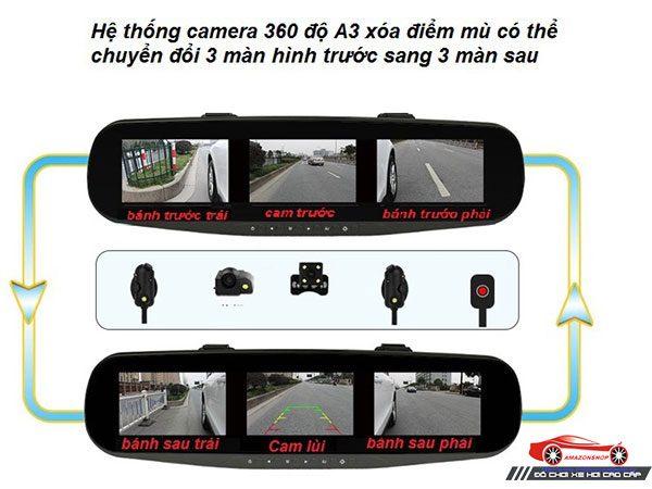 Camera quan sát 360 độ A3 18
