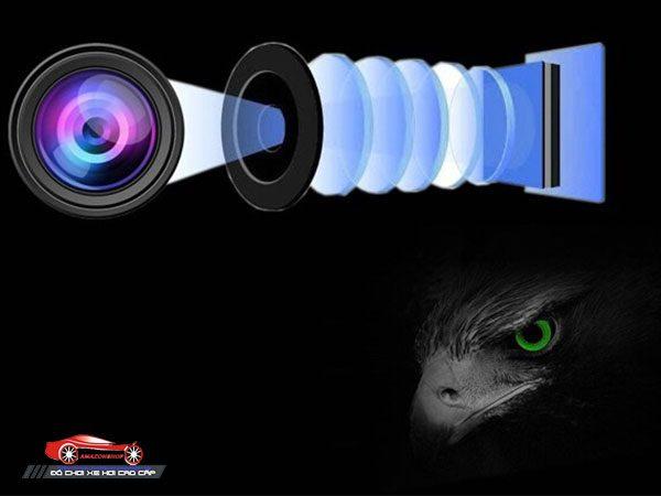 Camera quan sát 360 độ A7 - 6 kênh 15