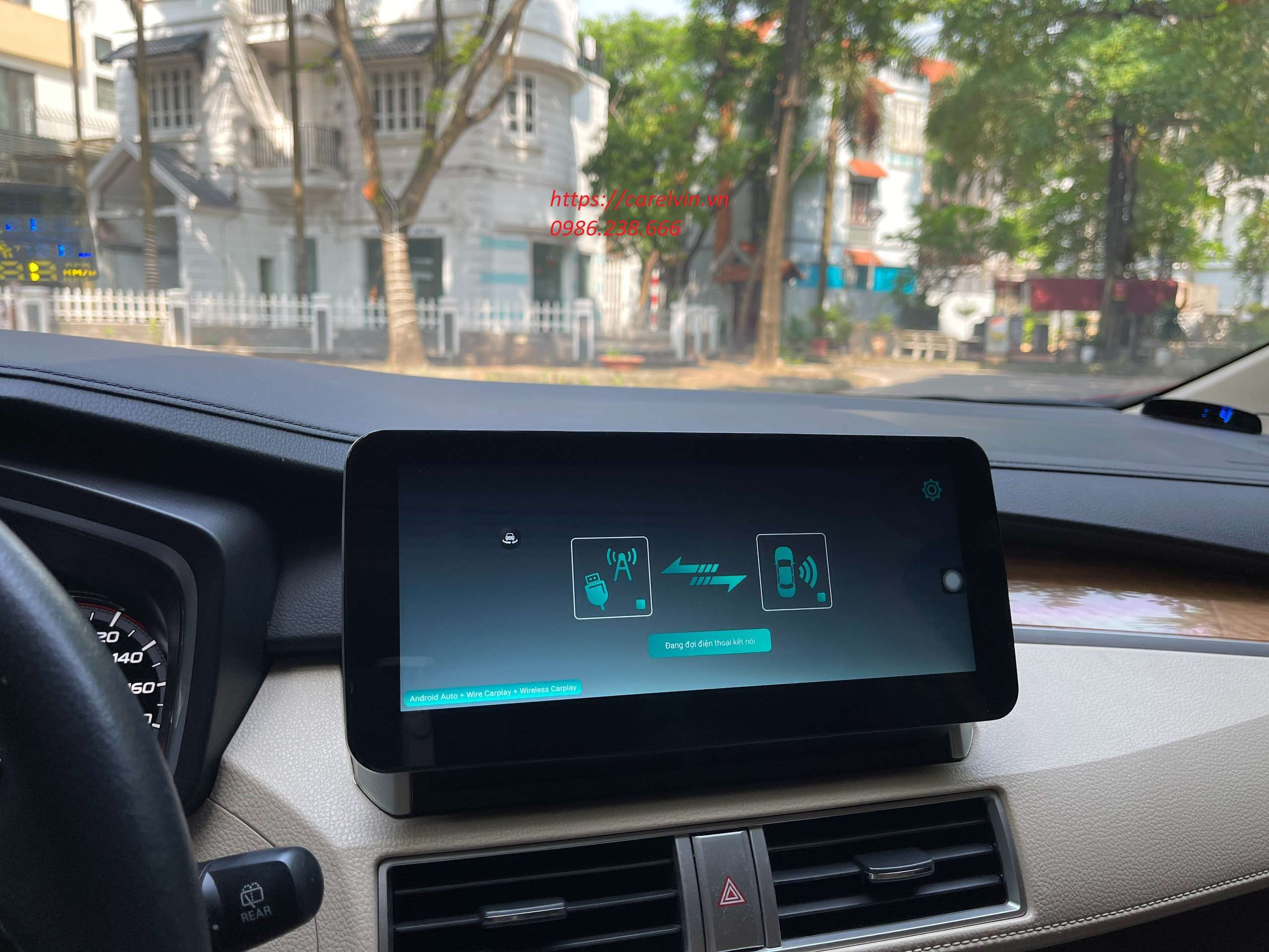 Kết nối Bluetooth gọi điện nghe nhạc