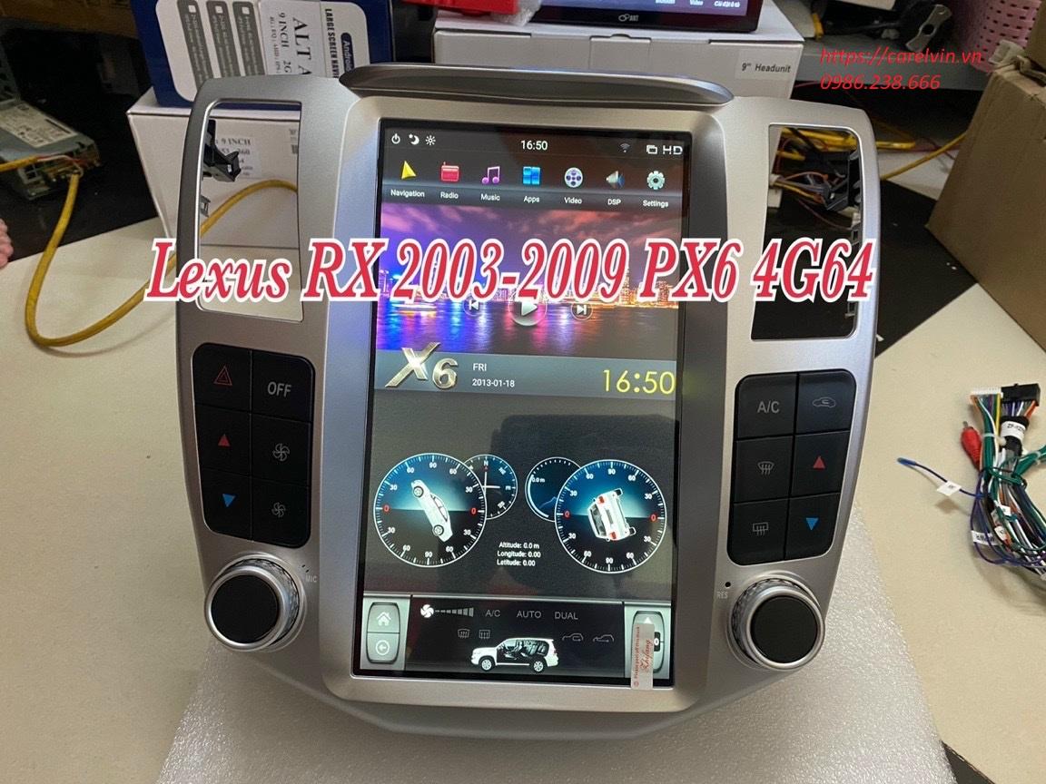Tesla Rx300 2004 2008 9.7in 2